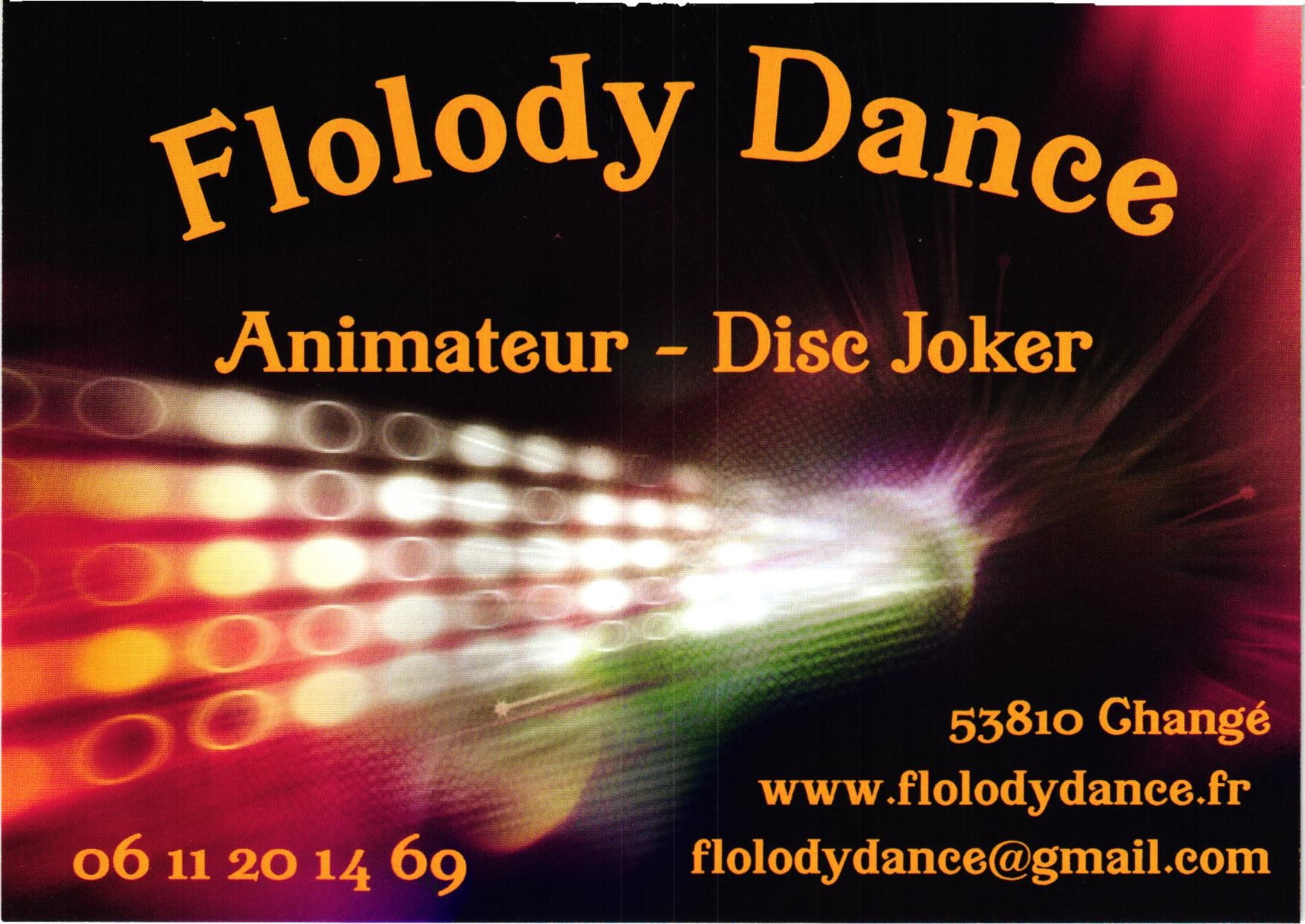 Carte flolodydance